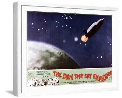 The Day The Sky Exploded - 1958--Framed Art Print