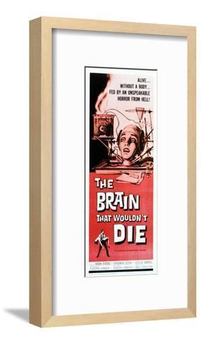 The Brain That Wouldn't Die - 1962--Framed Art Print