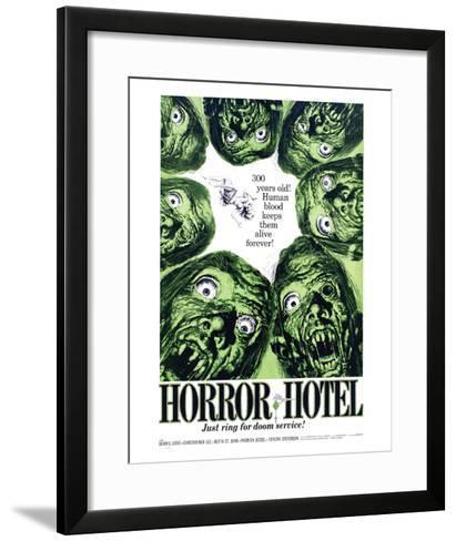 Horror Hotel - 1960--Framed Art Print