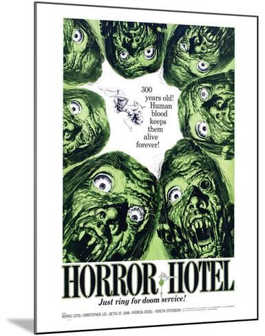 Horror Hotel - 1960--Mounted Giclee Print