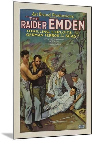 The Raider Emden - 1928--Mounted Giclee Print