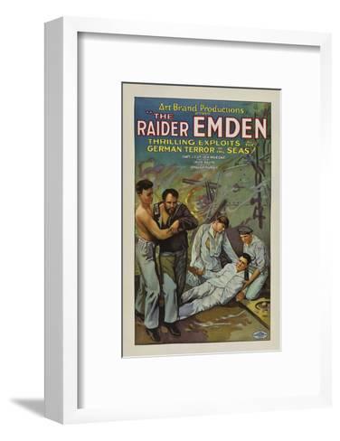 The Raider Emden - 1928--Framed Art Print