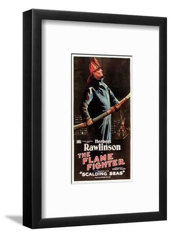 The Flame Fighter - 1925 I--Framed Art Print
