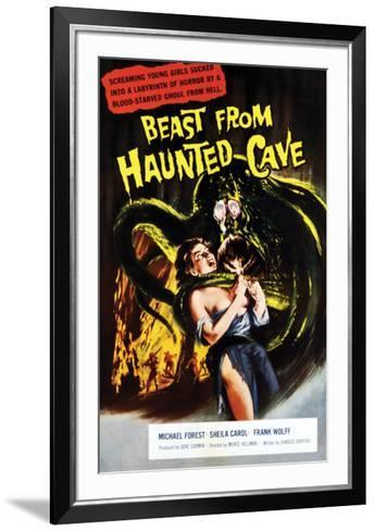 Beast From Haunted Cave - 1960 I--Framed Art Print