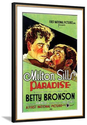 Paradise - 1926--Framed Art Print