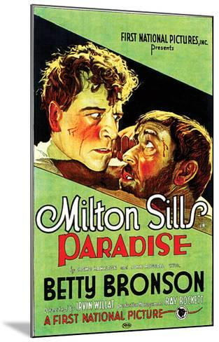 Paradise - 1926--Mounted Giclee Print