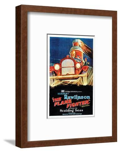 The Flame Fighter - 1925 III--Framed Art Print