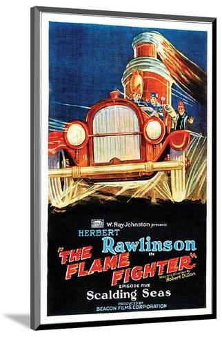 The Flame Fighter - 1925 III--Mounted Giclee Print