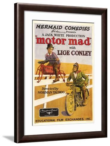 Motor Mad - 1924--Framed Art Print