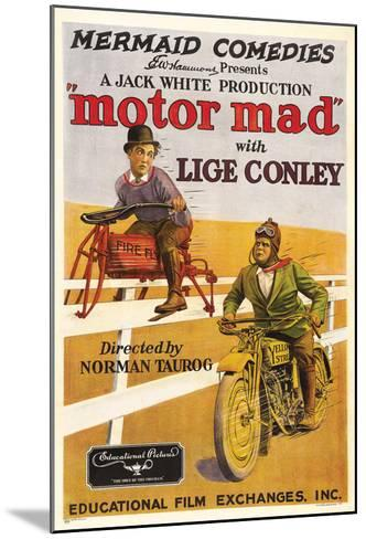 Motor Mad - 1924--Mounted Giclee Print