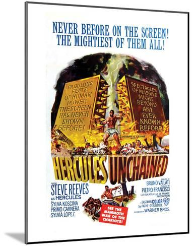 Hercules Unchained - 1959--Mounted Giclee Print
