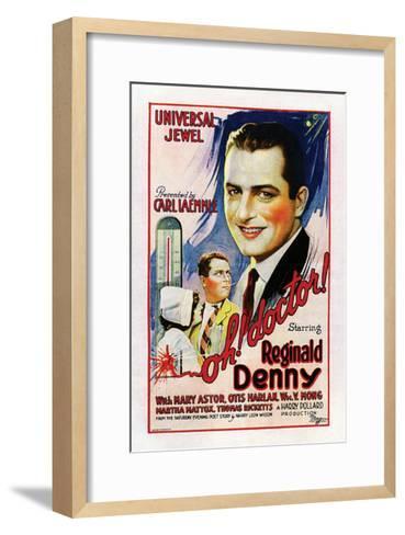 Oh, Doctor! - 1925--Framed Art Print
