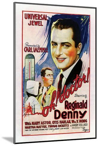Oh, Doctor! - 1925--Mounted Giclee Print