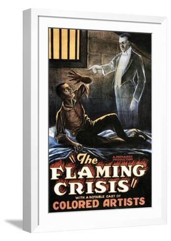 The Flaming Crisis - 1924--Framed Art Print