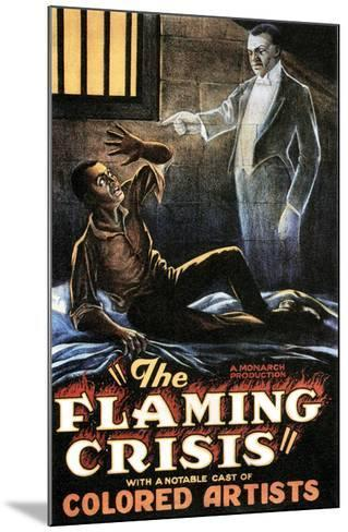 The Flaming Crisis - 1924--Mounted Giclee Print