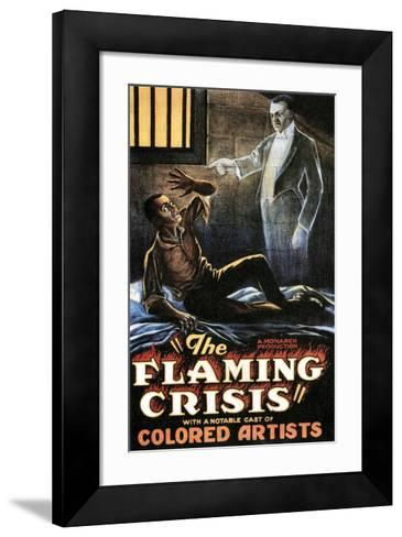 The Flaming Crisis - 1924--Framed Art Print
