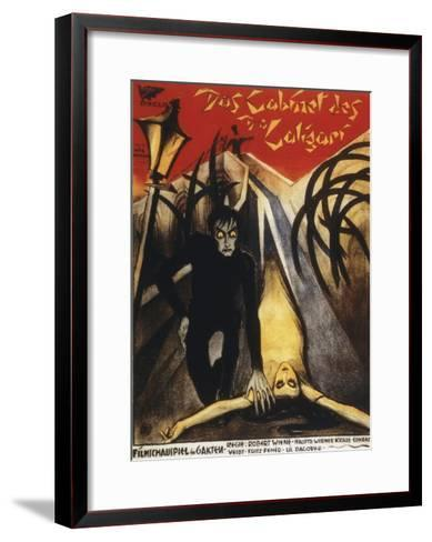 The Cabinet Of Dr. Calagari - 1920--Framed Art Print