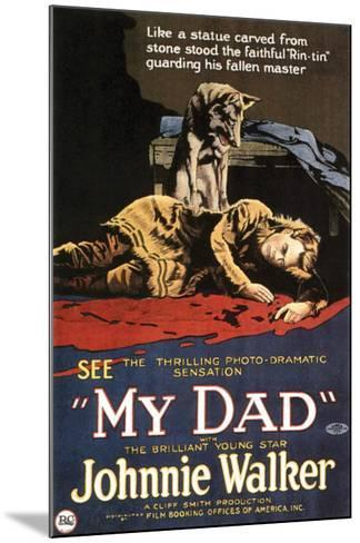 My Dad - 1922--Mounted Giclee Print