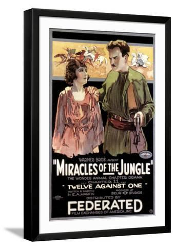 Miracles Of The Jungle - 1921--Framed Art Print