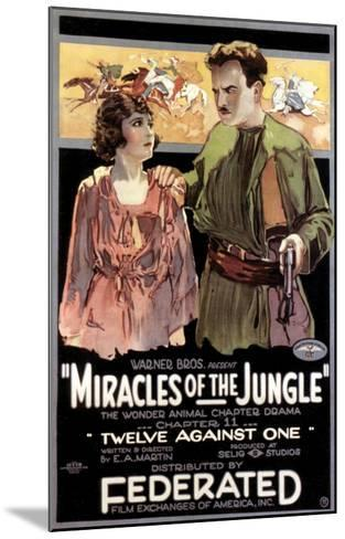 Miracles Of The Jungle - 1921--Mounted Giclee Print