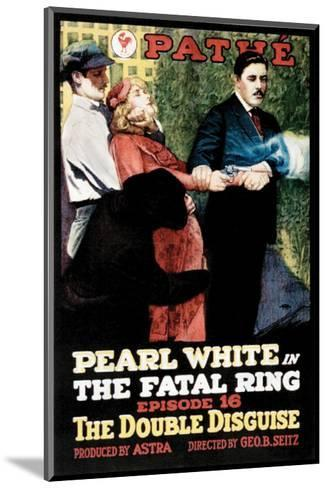 Fatal Ring - 1917--Mounted Giclee Print