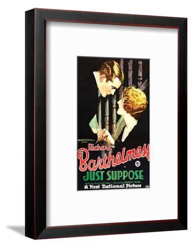 Just Suppose - 1926--Framed Art Print