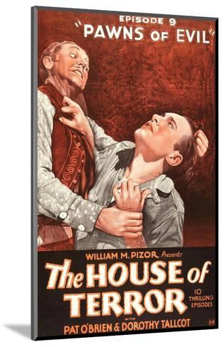 The House Of Terror - 1928--Mounted Giclee Print