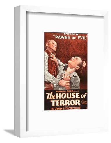 The House Of Terror - 1928--Framed Art Print