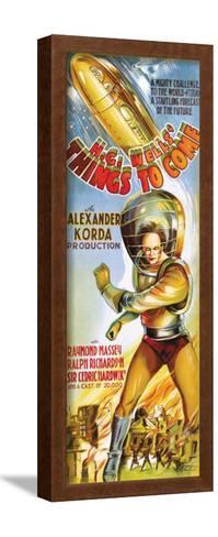Things To Come - 1936--Framed Art Print