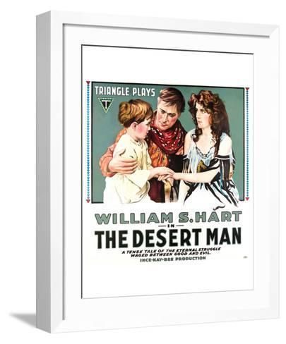 The Desert Man - 1917--Framed Art Print