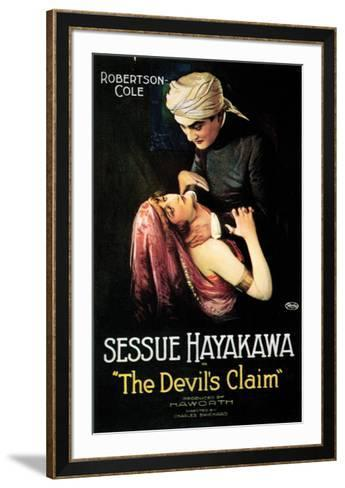The Devil's Claim - 1920--Framed Art Print