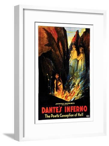 Dante's Inferno - 1922--Framed Art Print
