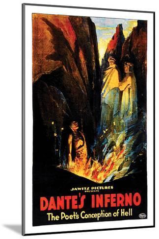 Dante's Inferno - 1922--Mounted Giclee Print