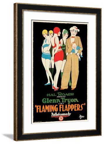 Flaming Flappers - 1925--Framed Art Print