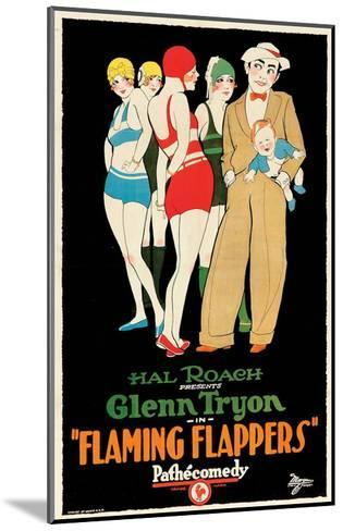 Flaming Flappers - 1925--Mounted Giclee Print