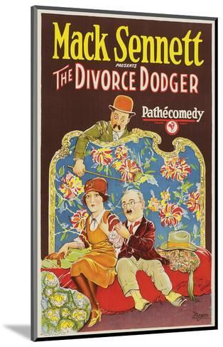 The Divorce Dodger - 1926--Mounted Giclee Print