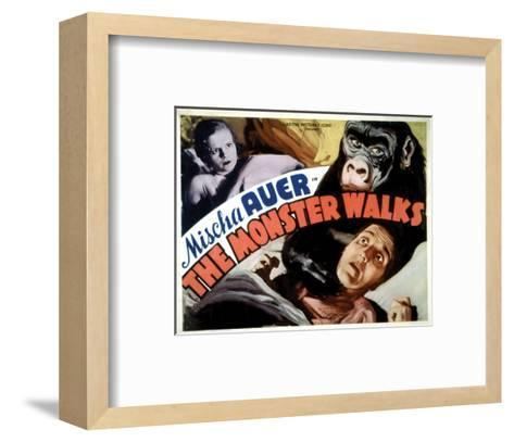 The Monster Walks - 1932 II--Framed Art Print