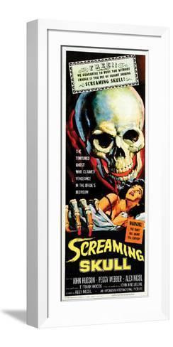The Screaming Skull - 1958--Framed Art Print