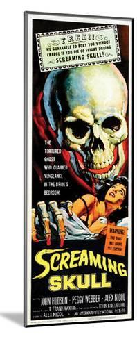 The Screaming Skull - 1958--Mounted Giclee Print