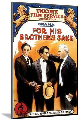 For His Brother's Sake - 1914--Mounted Giclee Print