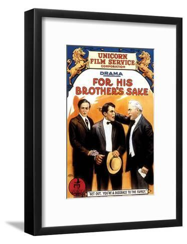 For His Brother's Sake - 1914--Framed Art Print