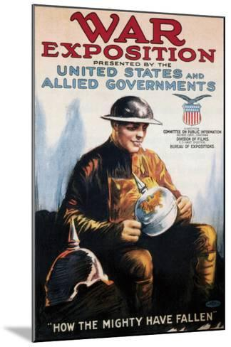 War Exposition - 1918--Mounted Giclee Print