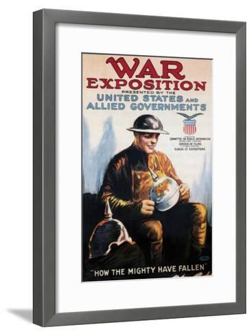 War Exposition - 1918--Framed Art Print