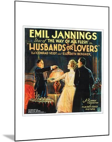 Husbands Or Lovers - 1924 I--Mounted Giclee Print