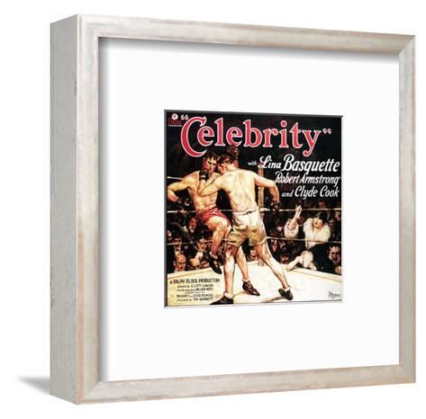 Celebrity - 1928--Framed Art Print