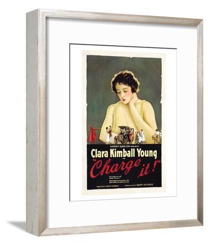 Charge It - 1921--Framed Art Print
