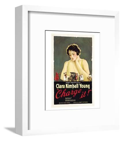 Charge It - 1921--Framed Art Print