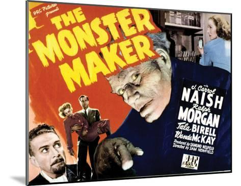 The Monster Maker - 1944--Mounted Giclee Print