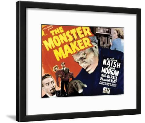 The Monster Maker - 1944--Framed Art Print
