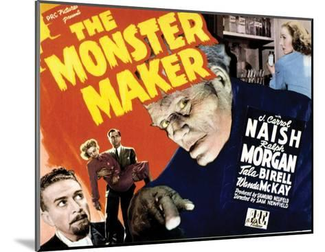 The Monster Maker - 1944--Mounted Giclee Print
